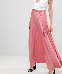 ASOS - Jupe longue plissée avec ceinture