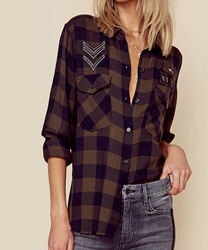 Rails Pepper Button Down Shirt