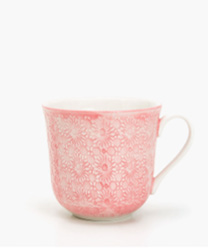 tasse porcelaine rose zara