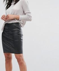 Vero Moda - Mini-jupe en similicuir
