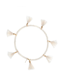 eve stretch bracelet white shashi