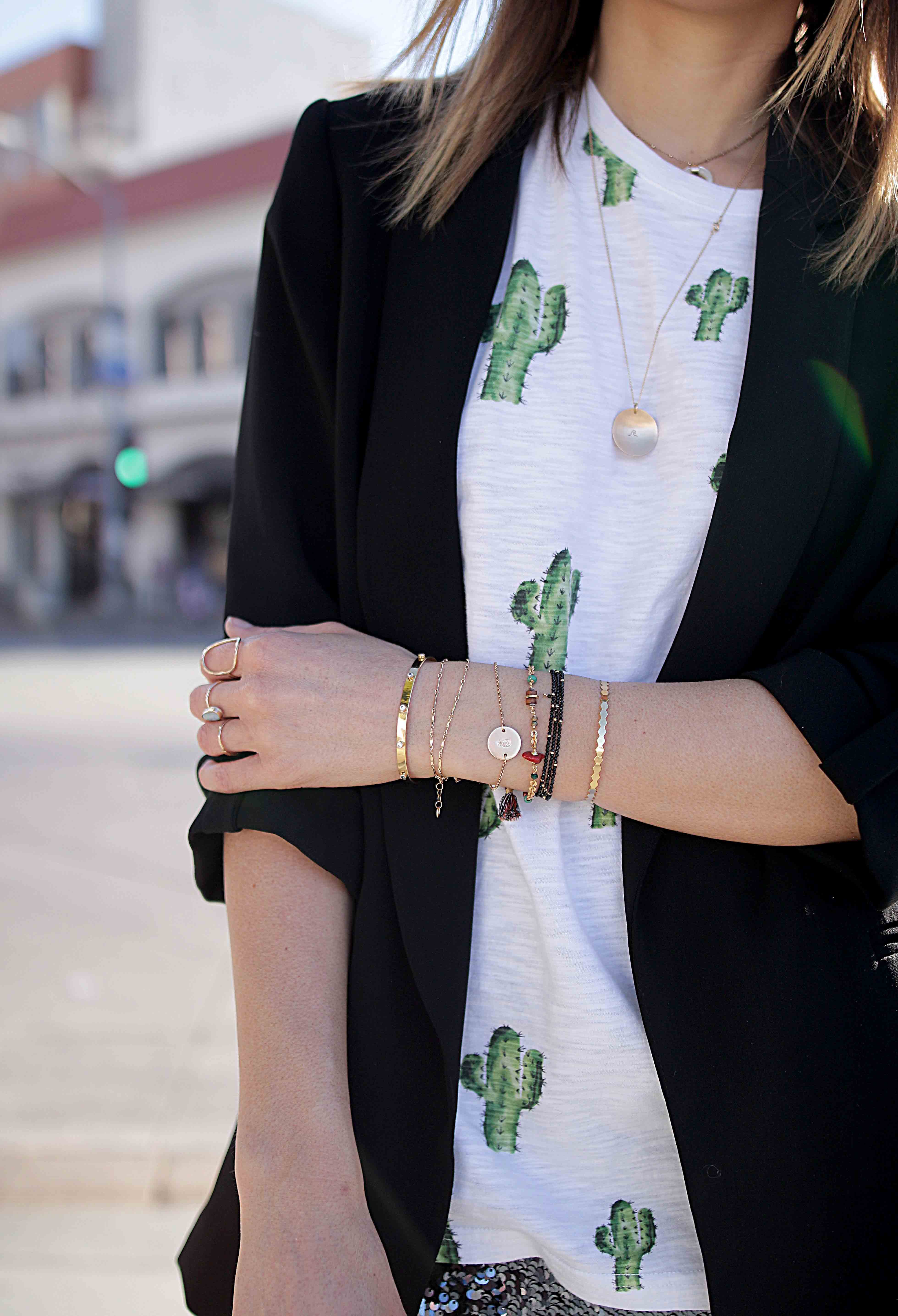 t shirt cactus
