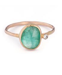 minera tourmaline ring