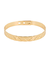 quilted bangle mya bay