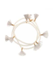 tassel wrap crystal bracelet