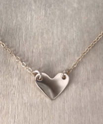 MINI HEART CHOKER JAMES MICHELLES JEWELRY