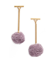 Pompom Drop Earrings MADEWELL