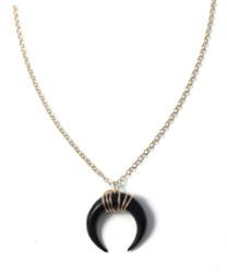 collier corne noire aparajan