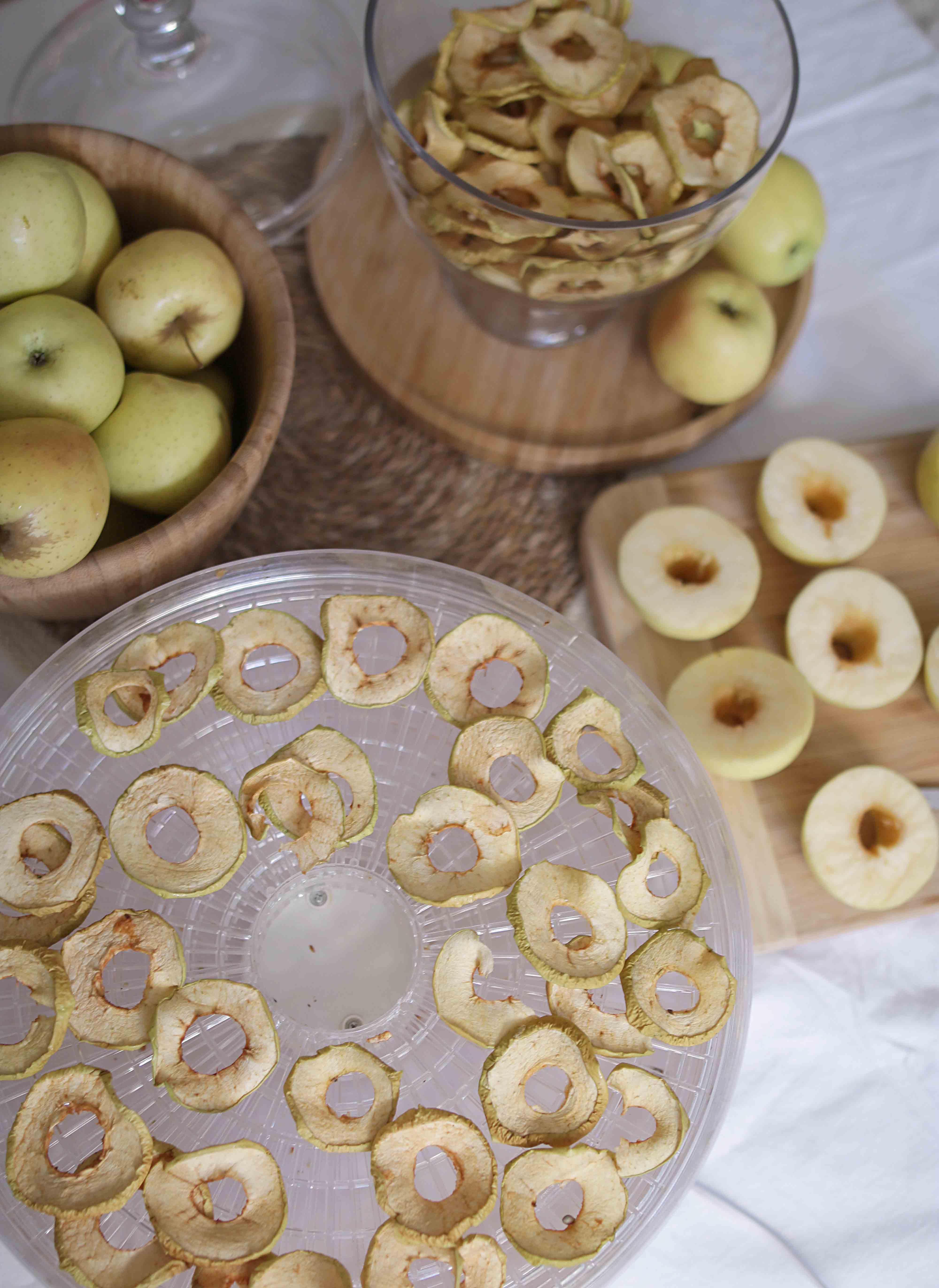 Pommes sechées