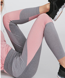Legging chiné rose OYSHO