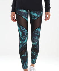 leggings BLACK GREEN ZALANDO