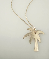 palmtree necklace james michelle jewelry