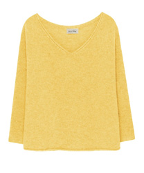 AMERICAN VINTAGE VACAVILLE PULLOVER - STRAW