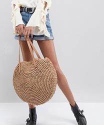 Glamorous - Sac en paille rond
