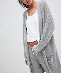 Micha Lounge - Cardigan en laine mélangée asos