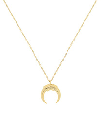 NEW CRESCENT MOON NECKALCE