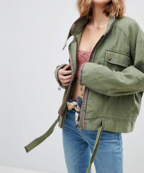 Free People - Flight Line - Veste militaire