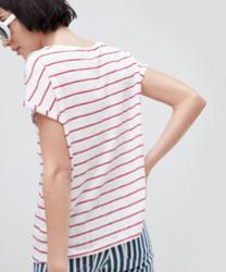 New Look - T-shirt rayé à poche en tissu bio