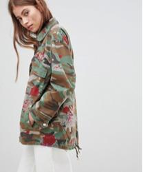 Pimkie - Veste fonctionnelle à fleurs motif camouflage