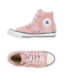 CONVERSE ALL STAR Sneakers faux fur rose