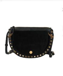 SEE BY CHLOE sac besace cuir noir