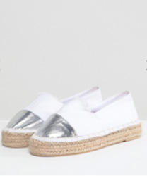 South Beach - Espadrilles à bout renforcé - Blanc