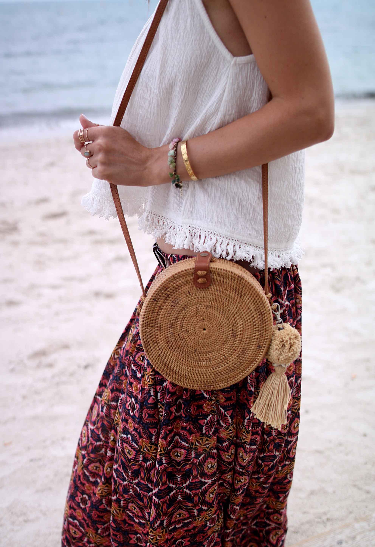 bali bag round bag pepyth