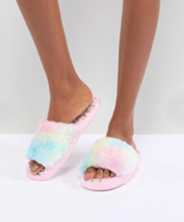 ASOS DESIGN - Nights Dream - Chaussons lumineux forme licorne