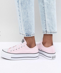 Converse - Chuck Taylor All Star - Baskets à semelles plateforme - Rose
