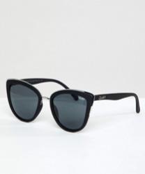 Quay Australia - My Girl - Lunettes de soleil yeux de chat - Noir