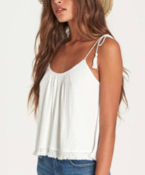 STEP UP TEXTURED KNIT TANK