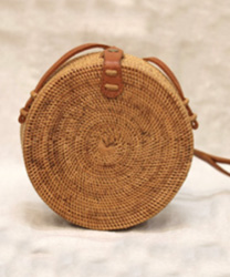 STRAW BAG – CIRCLE CLIP pepyth