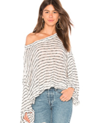 STRIPED ISLAND GIRL HACCI TOP FREE PEOPLE Free People