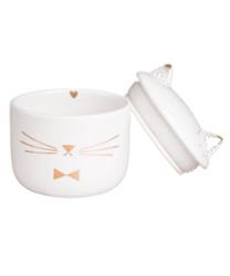 boite a bijoux chat porcelaine