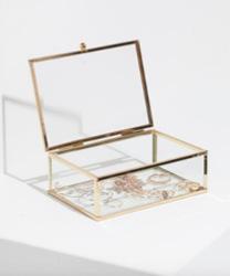 boite bijoux verre et or stradivarius