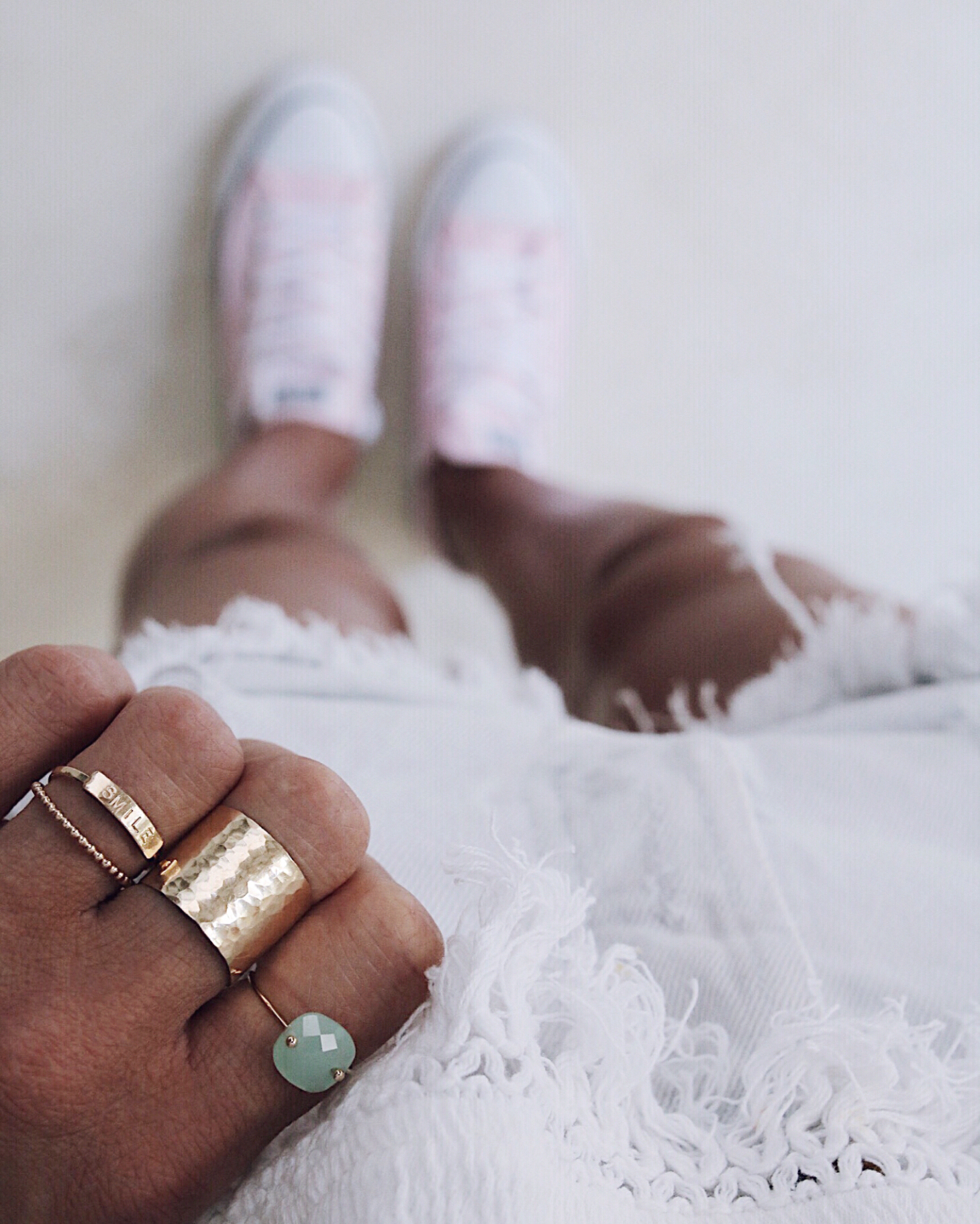 gold rings jewelry blogger