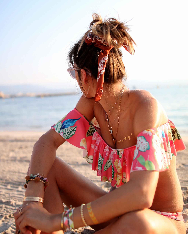 birthday girls, ruffle bikinis, mon petit bikini, bikini, pink baloons, beach life, bikini body, flash tattoos