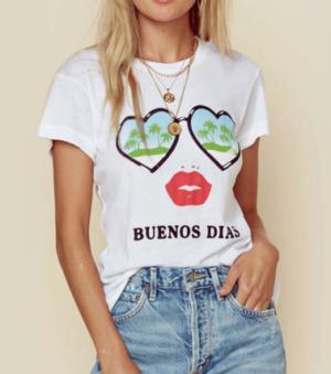BUENOS DIAS TEE WILDFOX