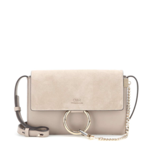 SAC A MAINS CHLOE FAYE SMALL LEATHER SHOULDER BAG MY THERESA
