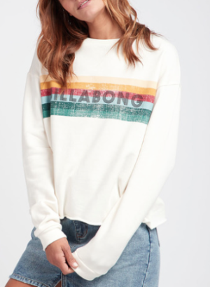 SAYLOR CROPPED BODY SWEATSHIRT