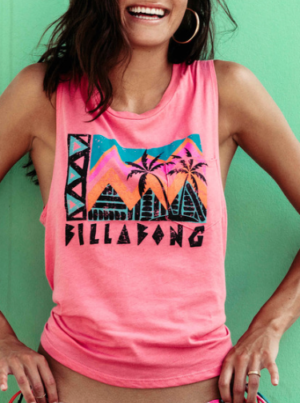 FIND YOUR TRIBE MUSCLE TOP BILLABONG