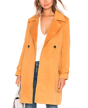 TULAROSA KARI COAT IN MUSTARD