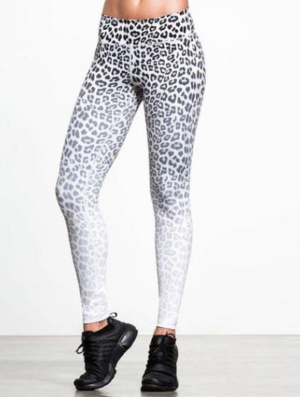 Legging Leopard – Blanc joy studio