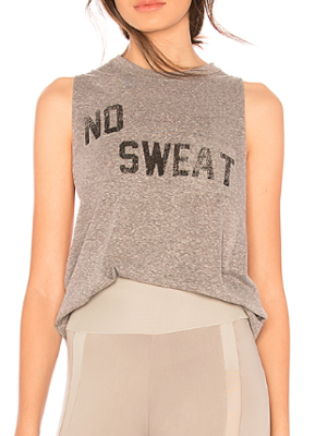 FREE PEOPLE MOVEMENT NO SWEAT TANK IN GREY