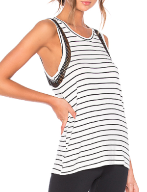 BODY LANGUAGE ORLY TANK IN STRIPE