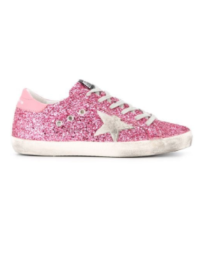 GOLDEN GOOSE DELUXE BRAND SUPERSTAR SNEAKERS – PINK