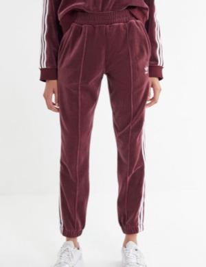 Pantalon de survêtement en velours à 3 rayures adidas