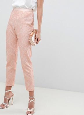 ASOS DESIGN – Pantalon slim ajusté en dentelle