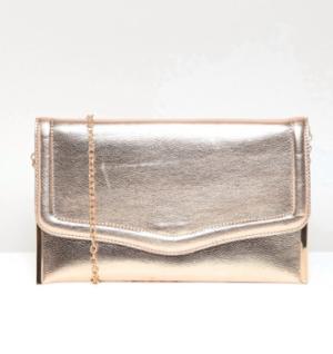 New Look – Pochette métallisée