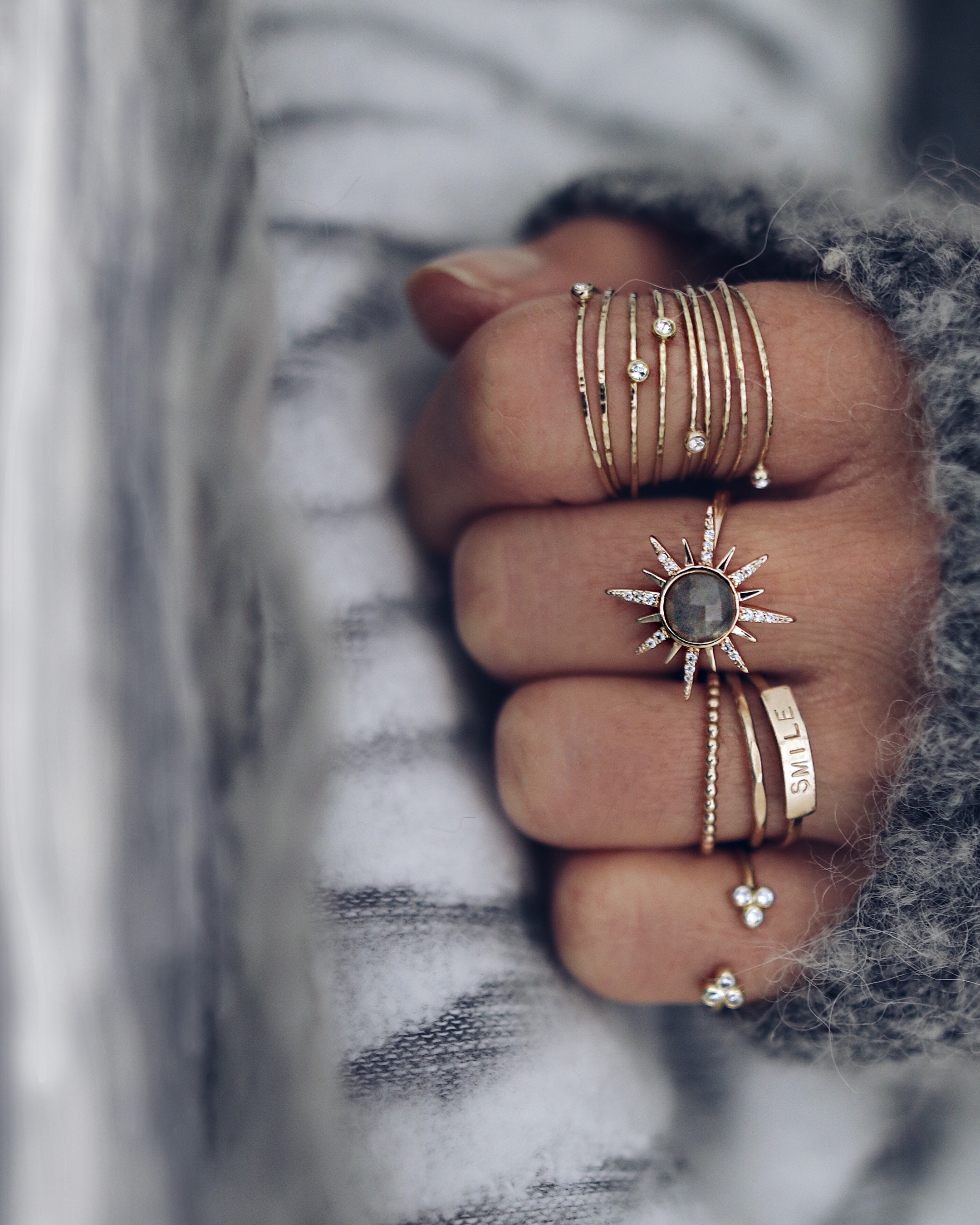 STARBUST ring
